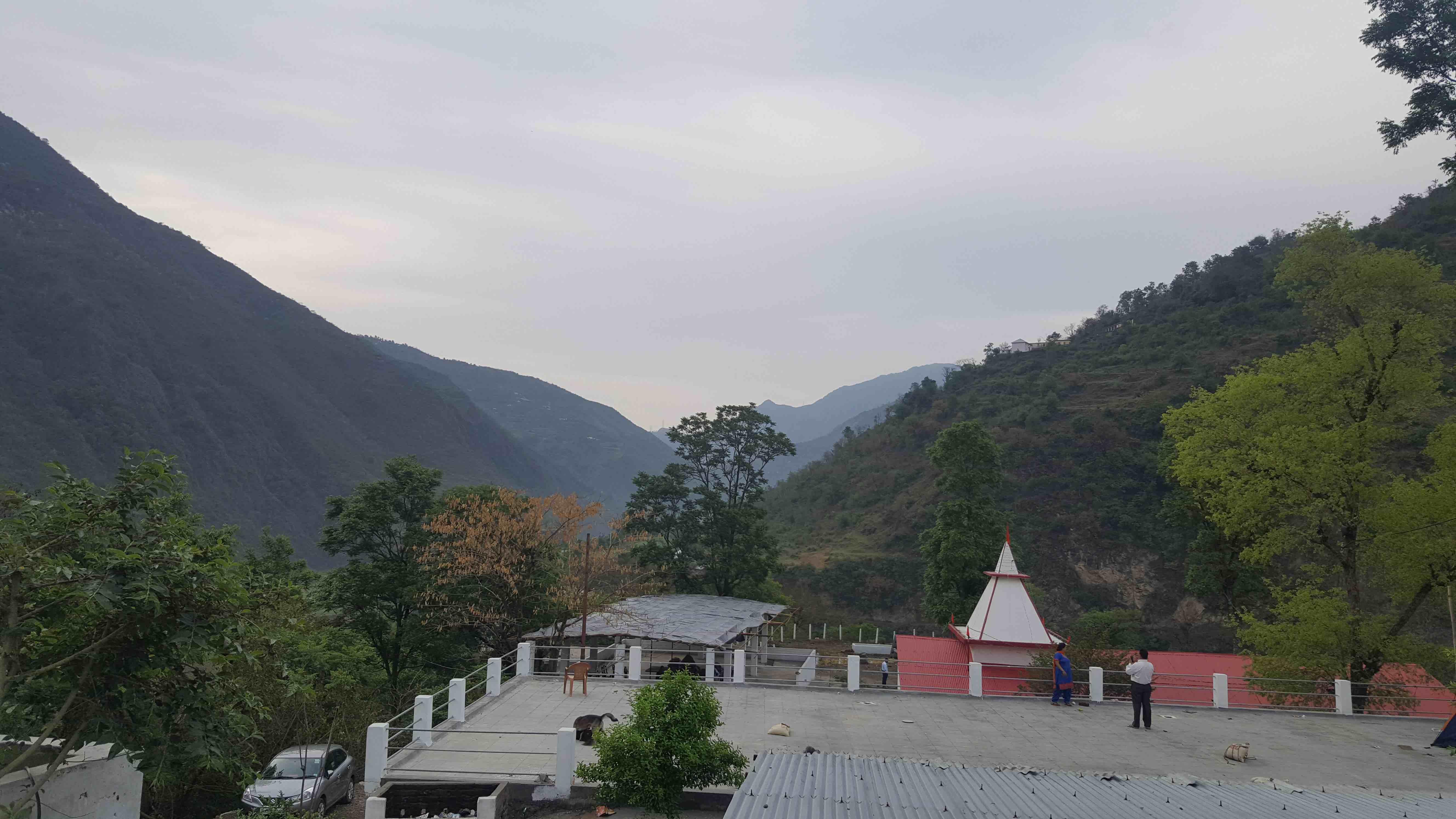 Mountain Temple View