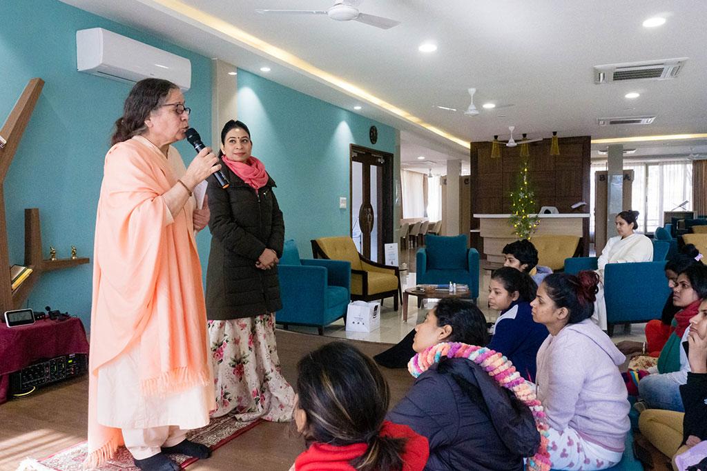 Coming Home: NGO Kranti visits the Ashram - Om Swami Ashram